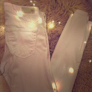 Ag brand white jeans